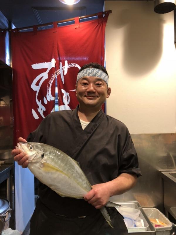 御蔵島産天然地魚!!
